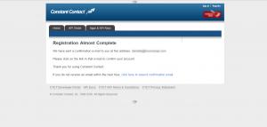 Constant contact verify