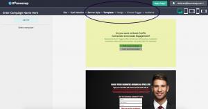 Bouncezap Design Fullscreen Campaign