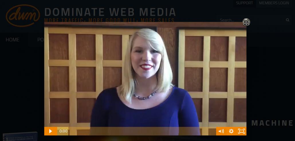 Dominate Web Media video marketing campaign